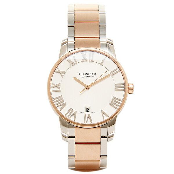 ティファニー 時計 メンズ TIFFANY&Co. Z1800.68.13A21A00A 自動巻 ATLAS DOME 腕時計 ウォッチ シルバー