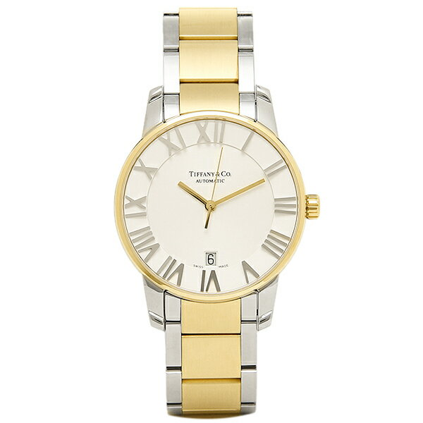 ティファニー 時計 メンズ TIFFANY&Co. Z1800.68.15A21A00A 自動巻 ATLAS DOME 腕時計 ウォッチ シルバー