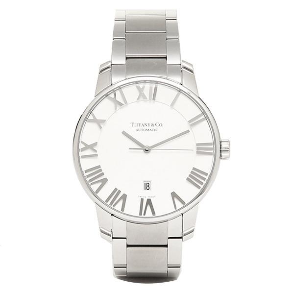 ティファニー 時計 メンズ TIFFANY&Co. Z1810.68.10A21A00A 自動巻 ATLAS DOME 腕時計 ウォッチ シルバー
