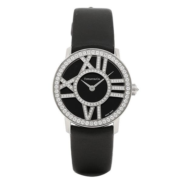 ティファニー 時計 レディース TIFFANY&Co. Z1900.10.40E10A40B ATLAS COCKTAIL ROUND 腕時計 ウォッチ ブラック