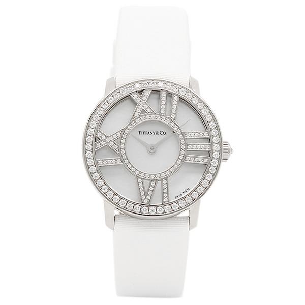 ティファニー 時計 レディース TIFFANY&Co. Z1900.10.40E91A40B ATLAS COCKTAIL ROUND 腕時計 ウォッチ ホワイトパール