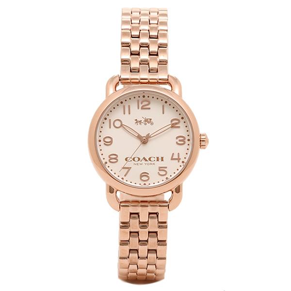 COACH コーチ 時計 レディース 14502242 DELANCEY デランシー 腕時計 ウォッチ ピンクゴールド/シルバー
