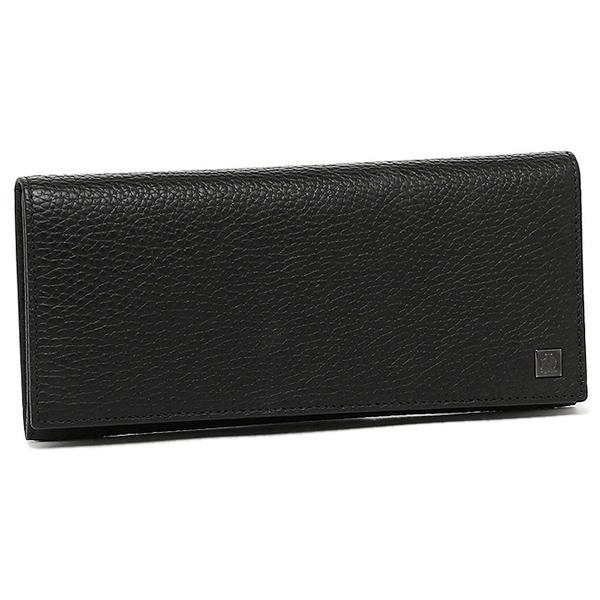 DUNHILL ダンヒル L2L710A YORK カウハイドレザー 長財布 メンズ BLACK ブラック