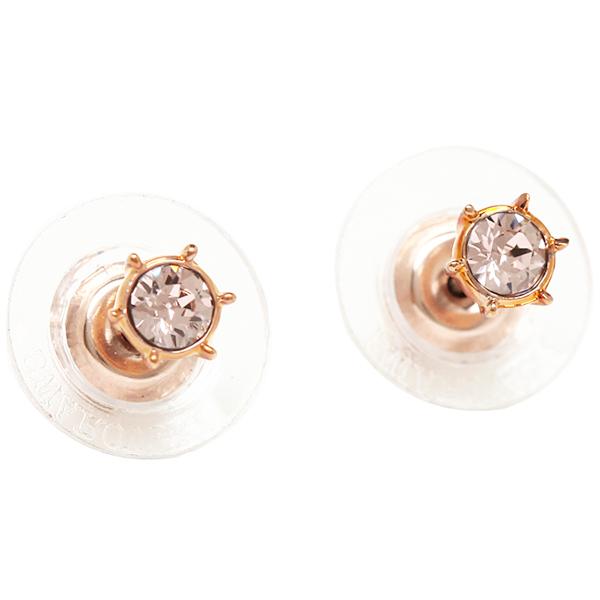 스와로브스키 귀걸이 2 개 세트 SWAROVSKI 5071152 BOTANIC EARRINGS SET 실버/핑크