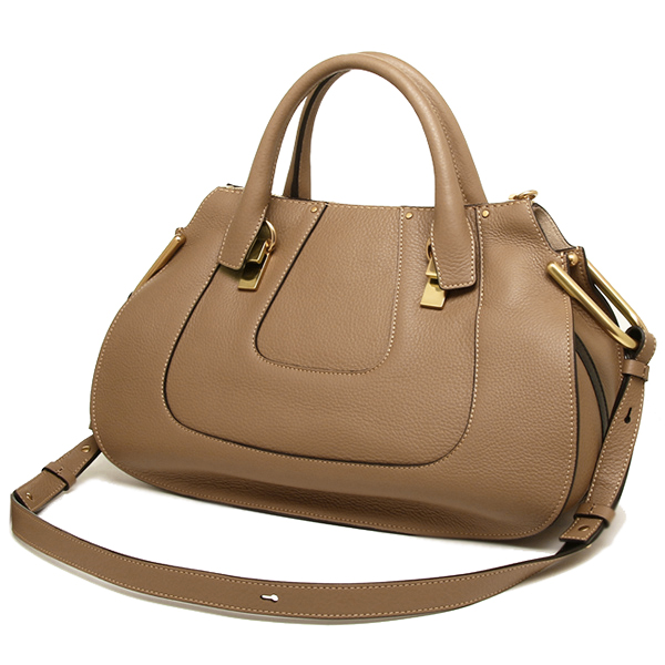 클로이 가방 CHLOE 3S1212 161 174 HAYLEY MEDIUM DOUBLE CARRY BAG 숄더백 NUT