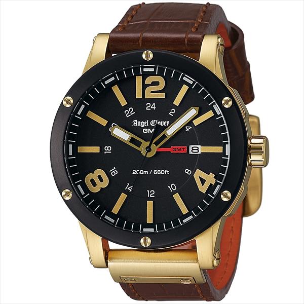 エンジェルクローバー 時計 メンズ ANGEL CLOVER エクスベンチャー 腕時計 ウォッチ ゴールド ブラック