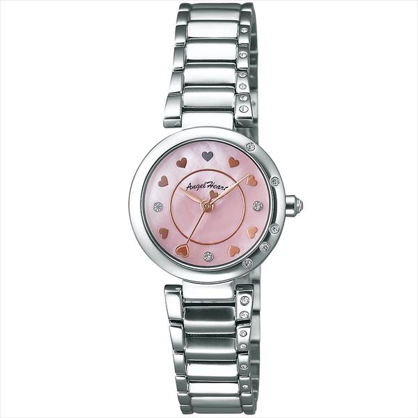 ANGEL HEART 時計 エンジェルハート プラチナムレーベル 腕時計 ウォッチ シルバー ピンク