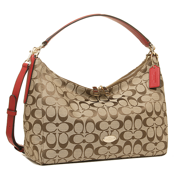 coach hobo bags outlet p2oi  Coach bags outlet COACH F36716 IME7P luxury signature cotton e/w Hobo 2-WAY