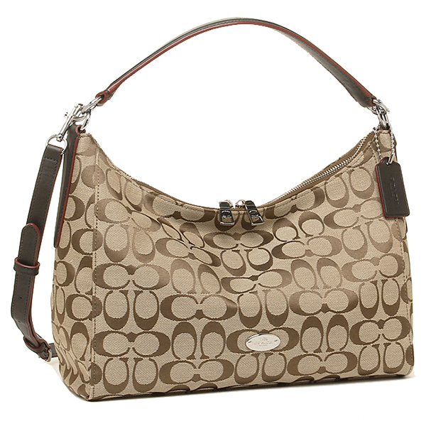 cff19232143d ... Coach bags outlet COACH F36716 SKHMA luxury signature cotton ew Hobo 2- WAY .