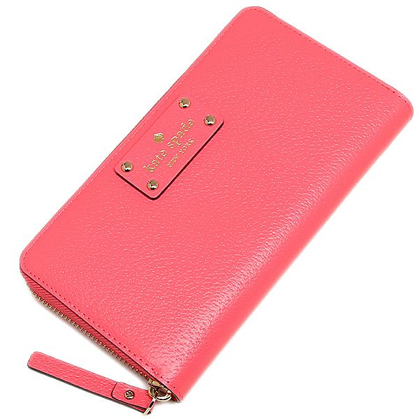 Kate spade purse outlets KATE SPADE WLRU1153 661 WELLESLEY NEDA zip around wallet PEONY