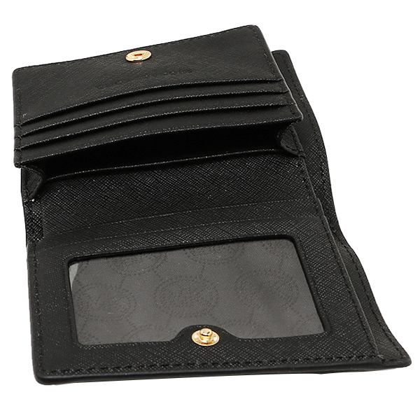마이클 마이클 코스 카드 케이스 MICHAEL MICHAEL KORS 32T4GTVF2L 001 JET SET TRAVEL FLAP CARD HOLDER BLACK