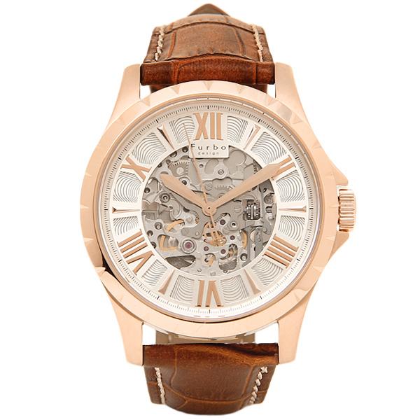 ウォッチ メンズ 時計 Furbo design シルバー/ブラウン F5021PSIBR フルボデザイン 腕時計