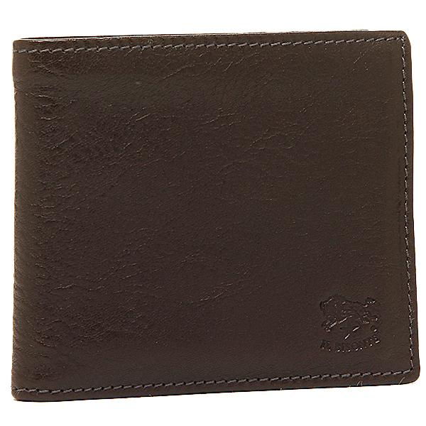 IL BISONTE 財布 イルビゾンテ C0817 P 455 メンズ 二つ折り財布 MOKA