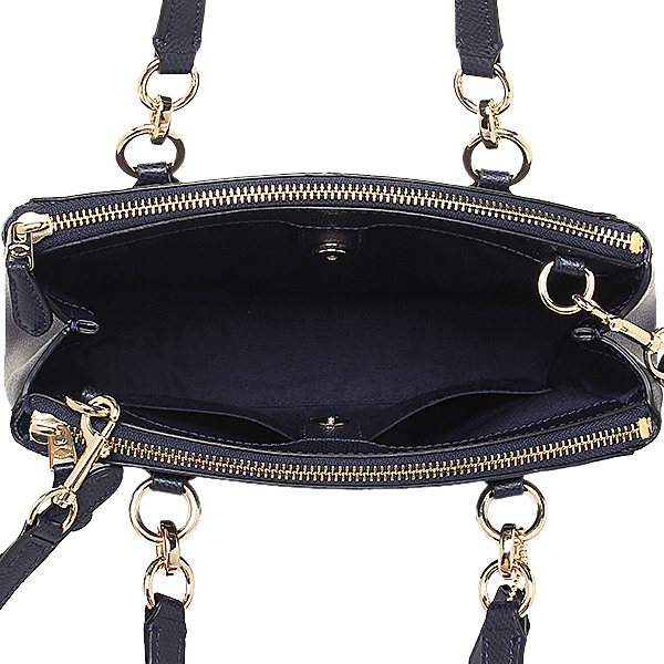 Coach bags outlet COACH F36704 IMMID cross grain leather mini Christie carryol 2-WAY bag midnight