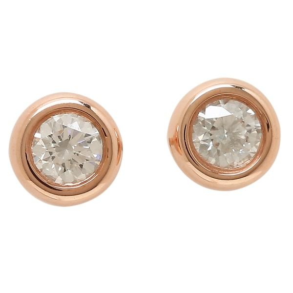 TIFFANY&Co. ピアス アクセサリー ティファニー 28274599 18K エルサペレッティ ダイヤモンド バイザヤード 18R ローズゴールド