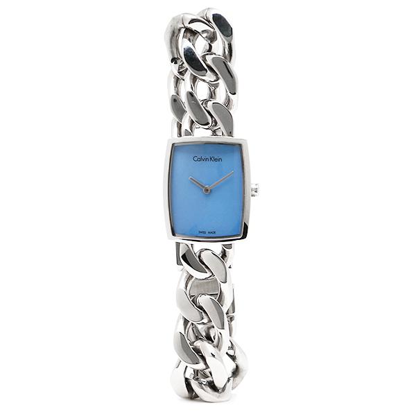 カルバンクライン 時計 レディース CALVIN KLEIN K5D2L1.2N アメーズ 腕時計 ウォッチ シルバー/ブルーパール