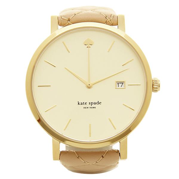 ケイトスペード 時計 レディース KATE SPADE 1YRU0844 METRO GRAND QUILTE メトログランドキルト 腕時計 ウォッチ ブラウン/シルバー