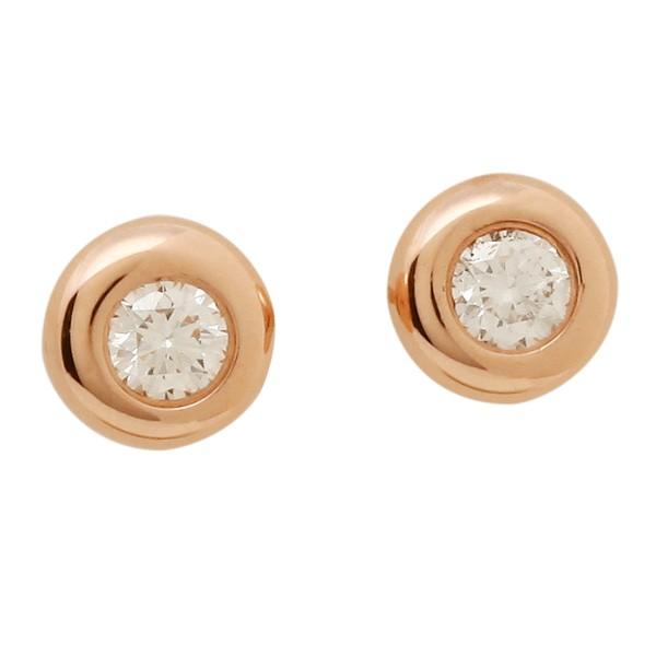TIFFANY&Co. ピアス アクセサリー ティファニー 28334206 18K ダイヤモンド バイ ザ ヤード 0.06ct 18R ローズゴールド