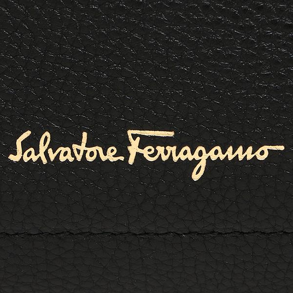 살바토레 페라가모 가방 Salvatore Ferragamo 21F565 629501 GANCIO SHOPPING 숄더백 NERO