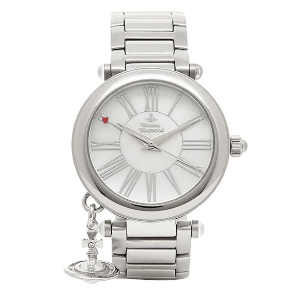 ヴィヴィアンウエストウッド 時計 レディース VIVIENNE WESTWOOD VV006PSLSL MOTHERORB 腕時計 ウォッチ ホワイトパール/シルバー