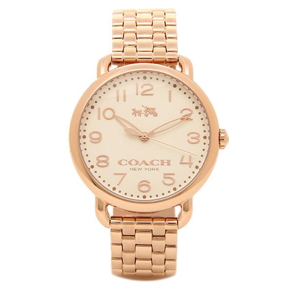 コーチ 時計 レディース COACH 14502262 DELANCEY デランシー 腕時計 ウォッチ ホワイト/ピンクゴールド