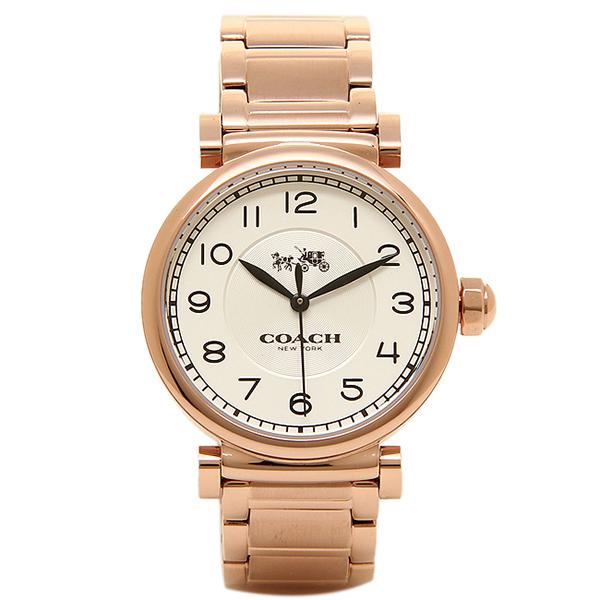 コーチ 時計 レディース COACH 14502395 MADISON マディソン 腕時計 ウォッチ ローズゴールド/シルバー