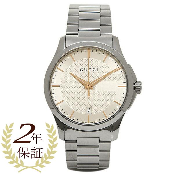 GUCCI 時計 メンズ/レディース グッチ YA126442 Gタイムレス 腕時計 ウォッチ シルバー