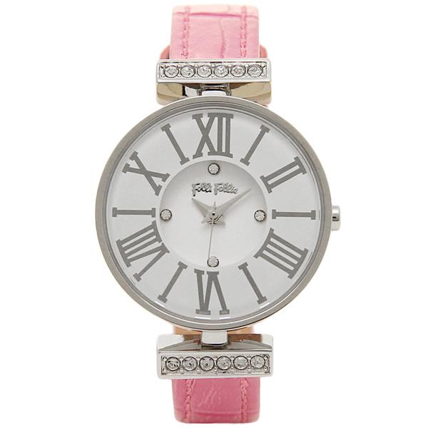 フォリフォリ 時計 FOLLI FOLLIE WF13A014SSW PI2 MINI DYNASTY ミニダイナスティ 腕時計 ウォッチ ピンク/ホワイト