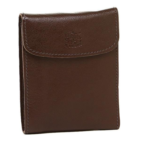 IL BISONTE 財布 イルビゾンテ C0976 P 455 メンズ 二つ折り財布 MOKA