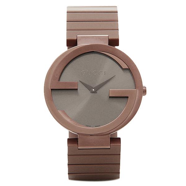 グッチ 時計 メンズ/レディース GUCCI YA133317 インターロッキング INTERLOCKING 腕時計 ウォッチ ブラウン