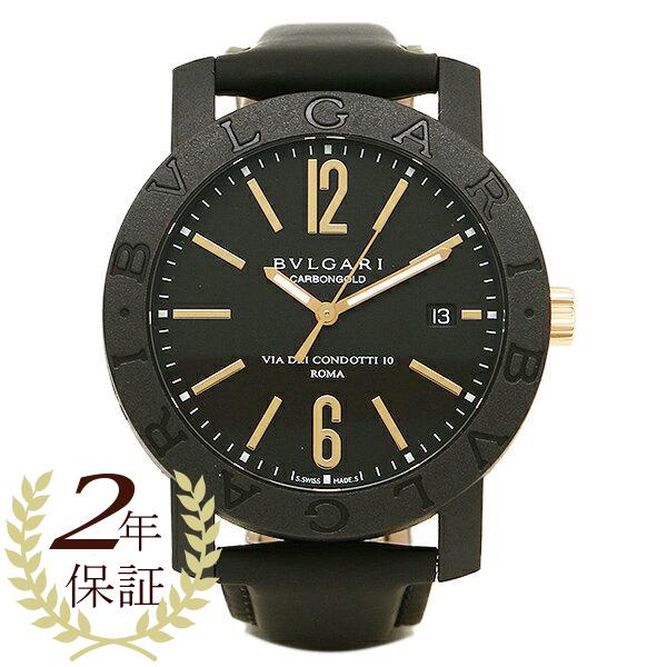 BVLGARI 時計 メンズ ブルガリ BBP40BCGLD ブルガリ ブルガリ 腕時計 ウォッチ ブラック