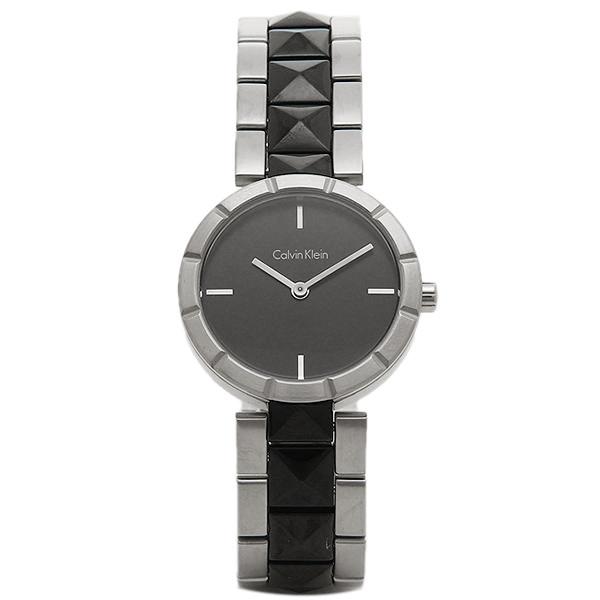 Calvin Klein カルバンクライン 時計 K5T33C41 EDGE エッジ 腕時計 ウォッチ ブラック/シルバー
