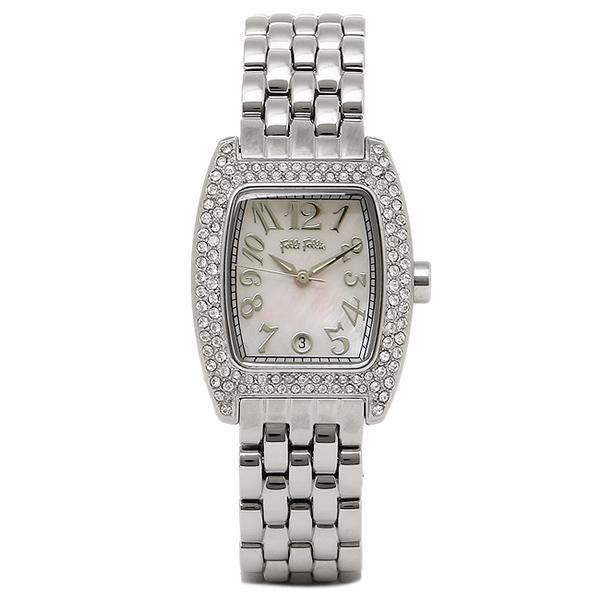 フォリフォリ 腕時計 レディース FOLLIFOLLIE WF5T081BZP S922フブレス 時計/ウォッチ ピンクシェル/シルバー