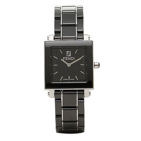 フェンディ 時計 レディース FENDI F621210 CERAMIC ウォッチ ブラック