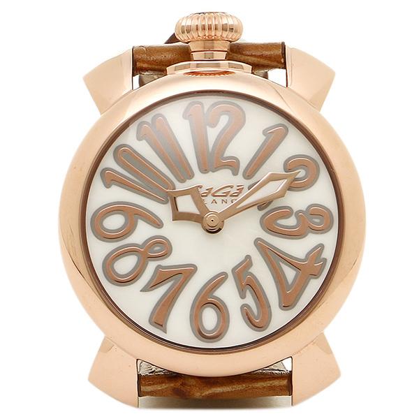 超歓迎された GAGA MILANO 腕時計 ガガミラノ 腕時計 BRW メンズ/レディース 5021.2 MILANO BRW MANUALE40MM クォーツ 腕時計 ウォッチ ピンク/ゴールド, 八束町:fc62206a --- supercanaltv.zonalivresh.dominiotemporario.com