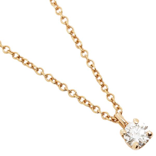 TIFFANY&Co. ネックレス アクセサリー ティファニー 30223942 18K ソリティア ダイヤモンド 16IN 18R ペンダント ローズゴールド