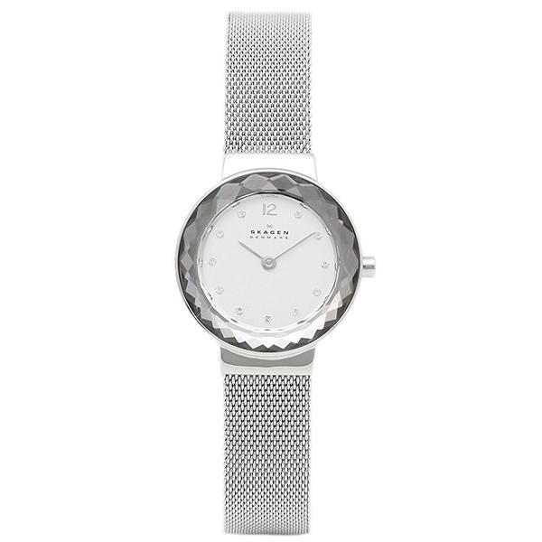 スカーゲン SKAGEN 時計 SKAGEN 456SSS STEEL スティール レディース腕時計ウォッチ シルバ-
