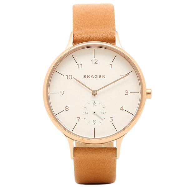スカーゲン SKAGEN 時計 SKAGEN SKW2405 ANITA アニタ レディース腕時計ウォッチ ブラウン/ホワイト