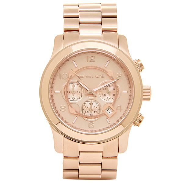 マイケルコース 時計 MICHAEL KORS MK8096 RUNWAY ランウェイ レディース腕時計ウォッチ ローズゴールド