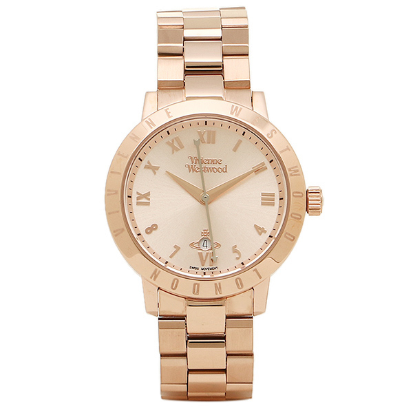 VIVIENNE WESTWOOD ヴィヴィアンウエストウッド 時計 VV152RSRS BLOOMSBURY ブルームズベリー レディース腕時計 ローズゴールド