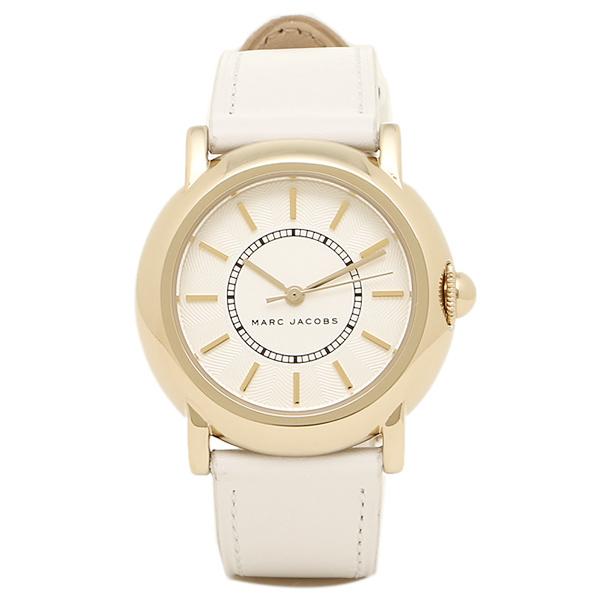 MARC JACOBS 時計 マークジェイコブス MJ1449 COURTNEY コートニー レディース腕時計 ホワイト/ゴールド/ホワイト