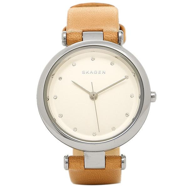 スカーゲン 時計 SKAGEN SKW2455 TANJA ターニャ レディース腕時計ウォッチ ブラウン/シルバー