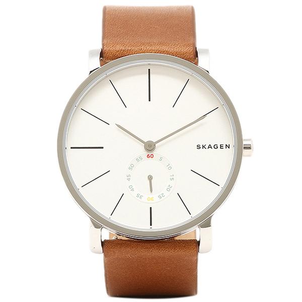 スカーゲン 時計 SKAGEN SKW6273 HAGEN ハーゲン メンズ腕時計 ウォッチ ブラウン/シルバー