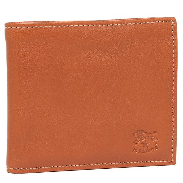 IL BISONTE 財布 イルビゾンテ C0487 MP 145 メンズ 二つ折り財布 CARAMEL