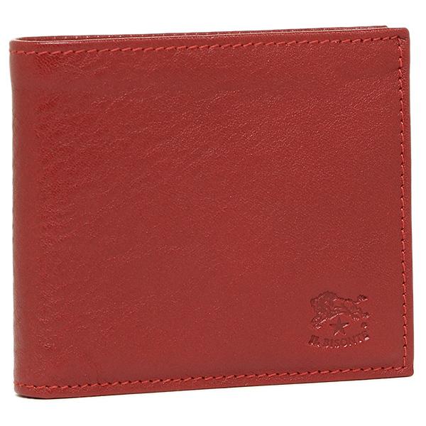 IL BISONTE 財布 イルビゾンテ C0487 MP 245 メンズ 二つ折り財布 ROSSO