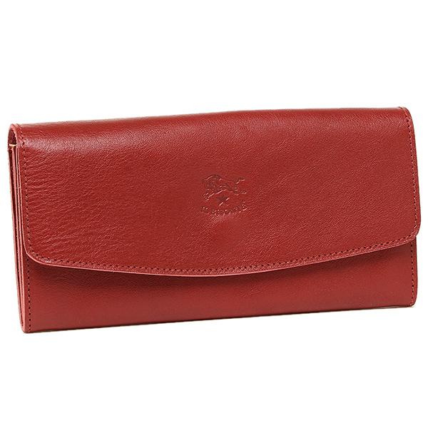 IL BISONTE 財布 レディース イルビゾンテ C0973 P 245 長財布 RUBY RED