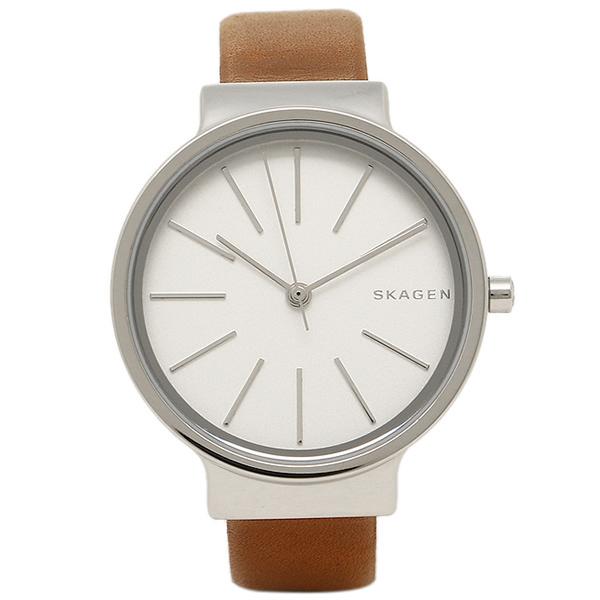 スカーゲン 時計 SKAGEN SKW2479 ANCHER アンカー レディース腕時計ウォッチ シルバー/ブラウン