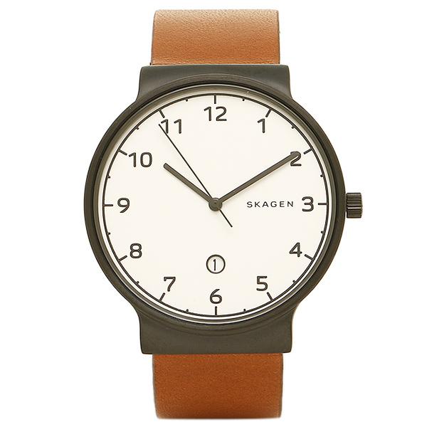 スカーゲン SKAGEN 時計 SKAGEN SKW6297 ANCHER メンズ腕時計 ウォッチ ホワイト/ブラック/ブラウン