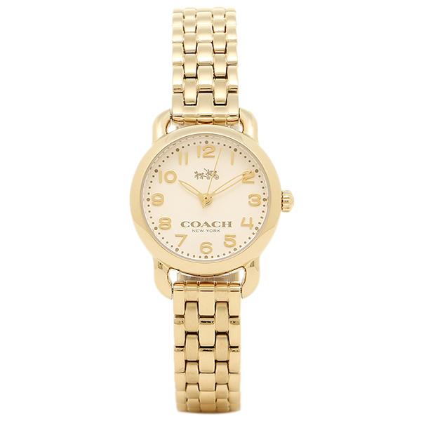 コーチ 時計 COACH 14502277 DELANCEY デランシー レディース腕時計ウォッチ ホワイト/ゴールド