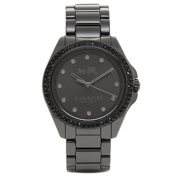 コーチ 時計 COACH 14502498 TRISTEN CERAMIC トリステンセラミック レディース腕時計ウォッチ ブラック